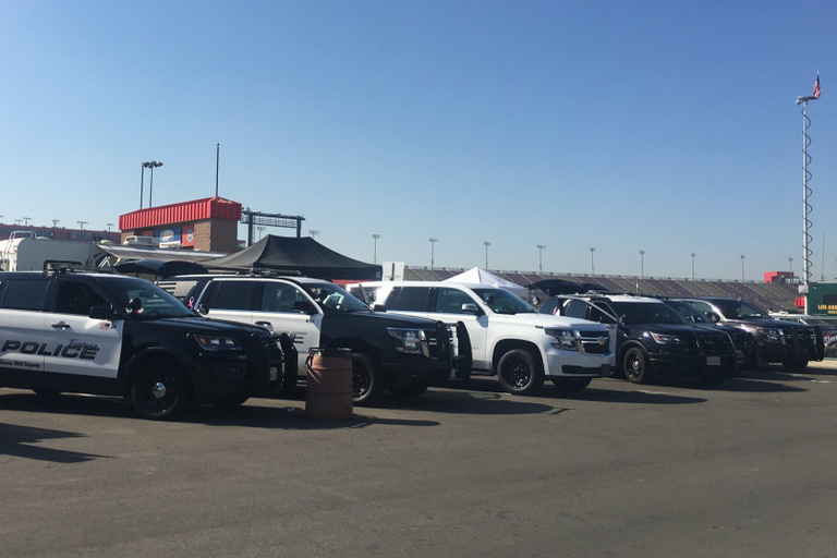 The Los Angeles Sheriff's Department's annual vehicle evaluation and product expo attracted...