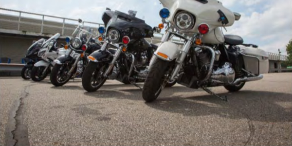 MY-2019 motorcycles tested by the Michigan State Police