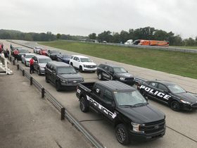 Michigan State Police Tests 2020 Model-Year Vehicles