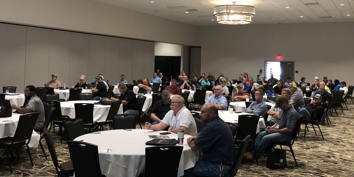 Nearly 260 fleet professionals registered for the two-day confernece of theOklahoma Public Fleet Management Association (OPFMA).  - Photo courtesy of OPFMA
