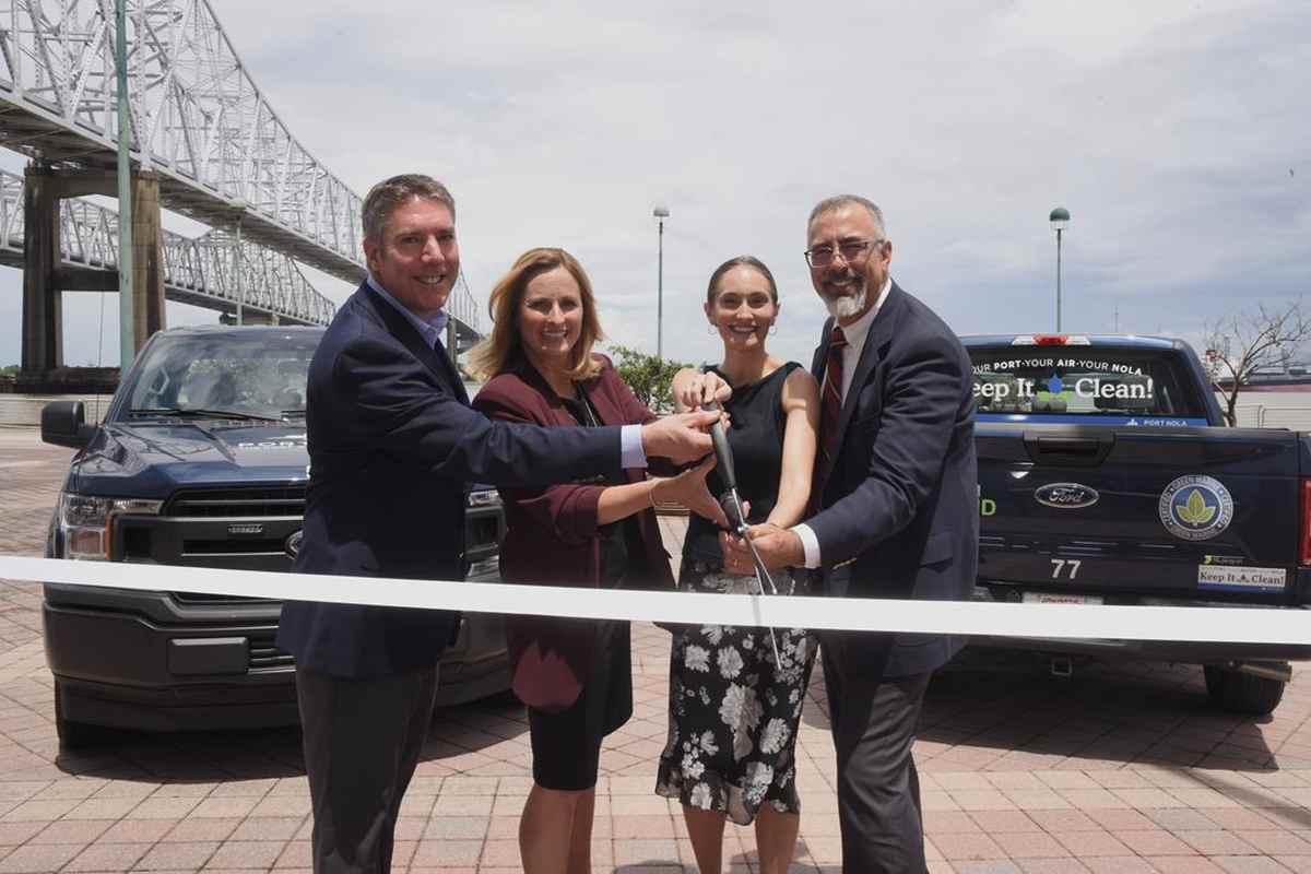 Port of New Orleans Adds Plug-In Hybrid Pickup Trucks