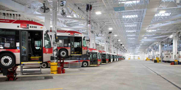City of Calgary Selects Stertil-Koni Lifts for New Maintenance Facility