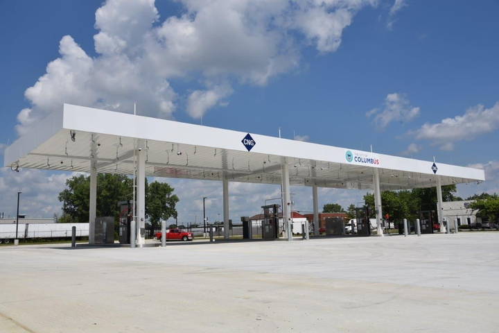 The CNG fuel station is to be in use at least 20 years.