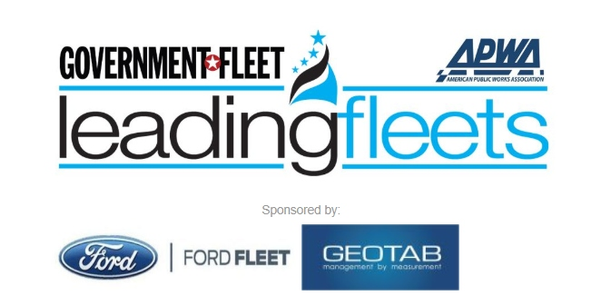 The Leading Fleets award recognizes the best government fleet operations in the U.S. and Canada.