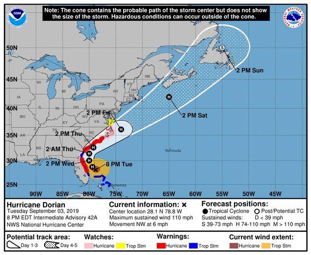 - Photo courtesy of National Hurricane Center