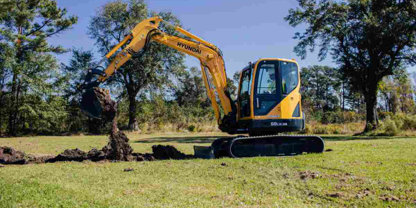 The R60CR-9A is one of the compact excavators can be be purchased from the new contract.