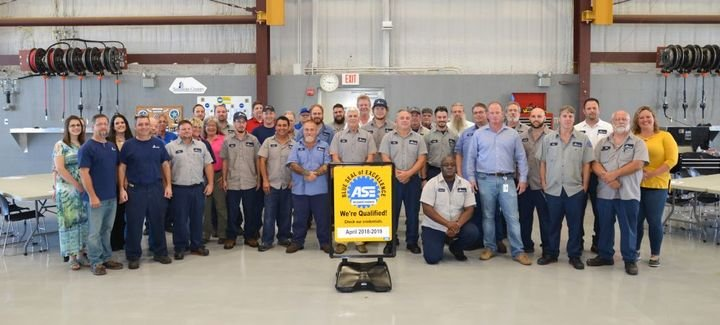 The Sarasota County, Fla., fleet earned its ASE Blue Seal of Excellence in April.  - Photo courtesy of Sarasota County