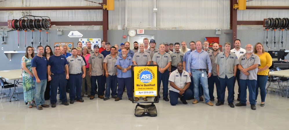 Fla. County Obtains ASE Blue Seal of Excellence
