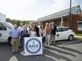 U.Va. Reduces Fuel Use, Fleet Emissions