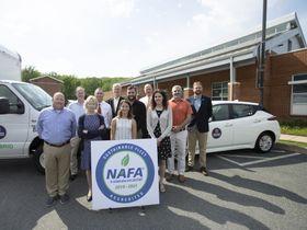 U.Va. Reduces Fuel Use, Fleet Emissions