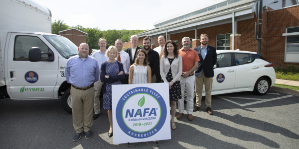 The University of Virginia fleet staffed collaborated in the alternative-fuel program and to...