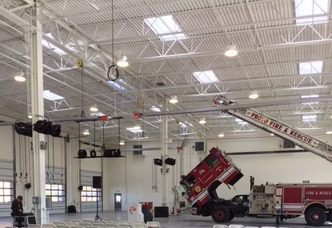 NEW FACILITY: The new facility has ceilings high enough to accomodate fire trucks. Photo courtesy of City of Provo