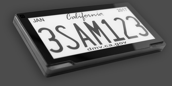 Sacramento Deploys Digital License Plates