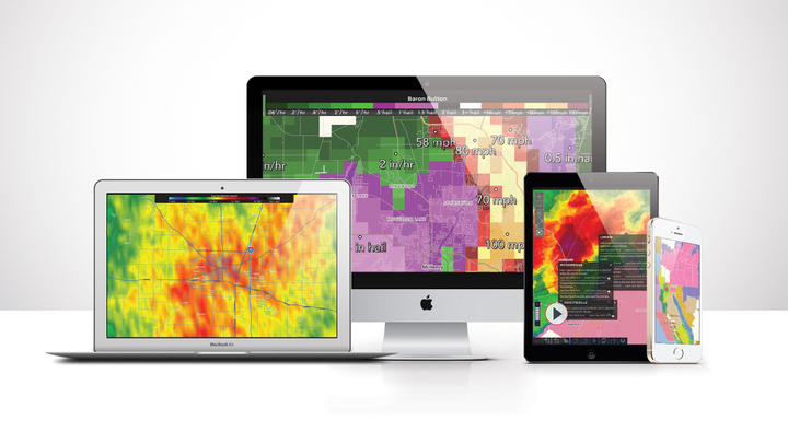 Baron's Telematics for Public Safetycan generate highly accurate road weather condition data.  - Photo courtesy of Baron