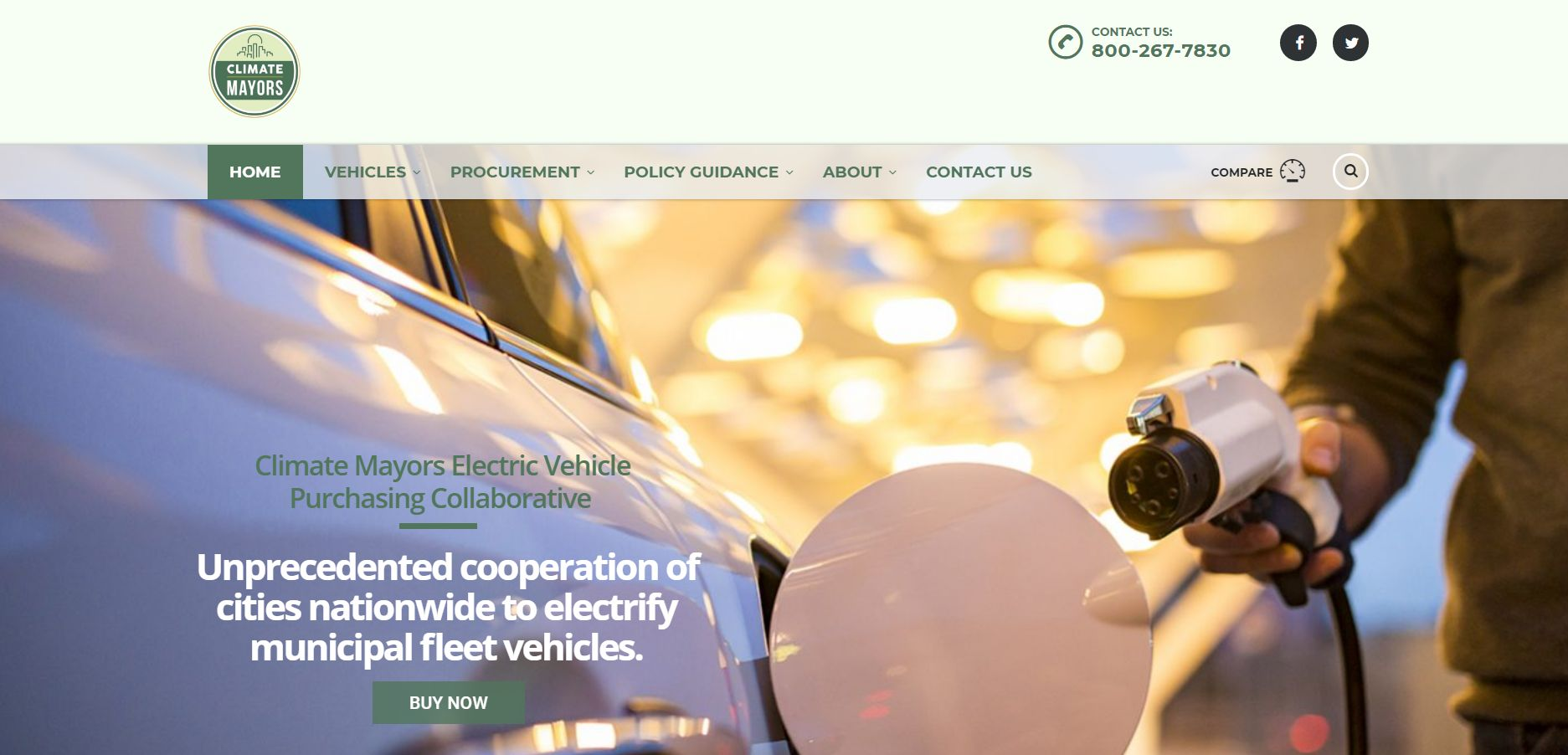 Mayors Launch EV Purchasing Cooperative for Municipalities