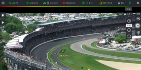 Drones Aid Police at Indy 500