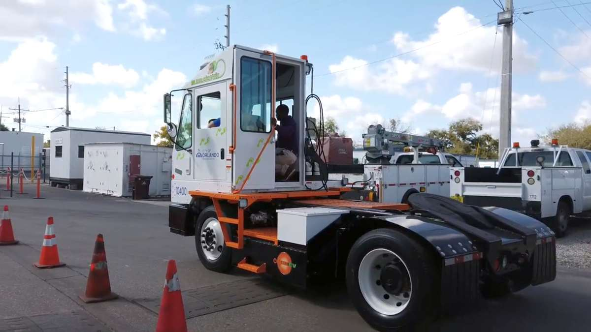 Orlando Buys Its First Electric Work Truck