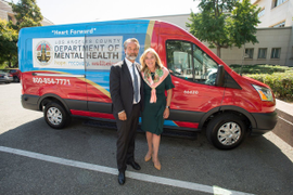 Los Angeles County Unveils Mental Health Transport Vans