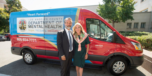 Los Angeles County Unveils Mental Health Transport Vans