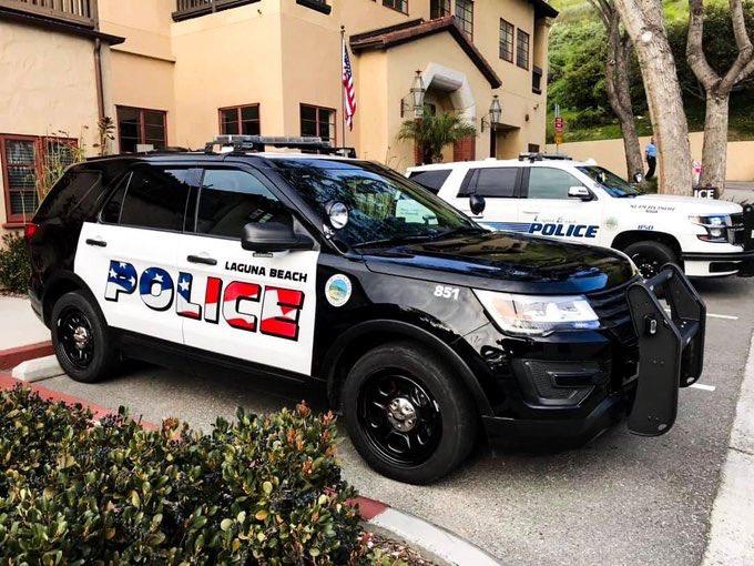 California Community Debates Patriotic Patrol Cars