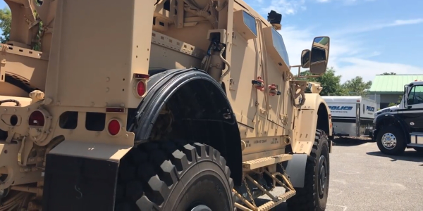 NC Police Adds Armored Vehicles for Hurricane Season