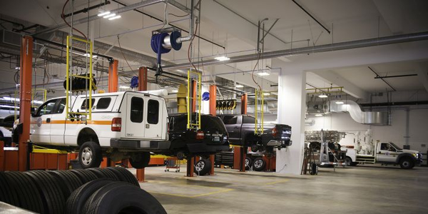 Ga. County Building Fleet Maintenance Facility