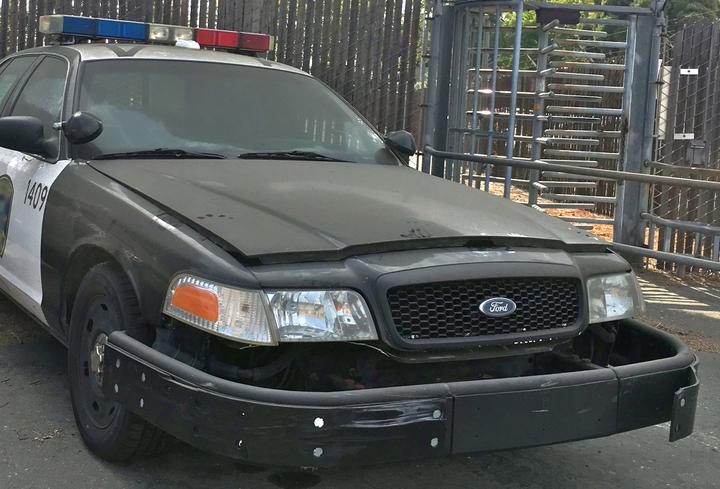Example of a police vehicle used for PIT maneuvers