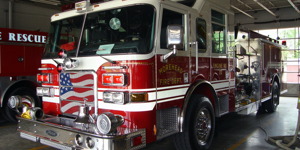 NY Municipality Celebrates New Fire Trucks with 'Wetdown'