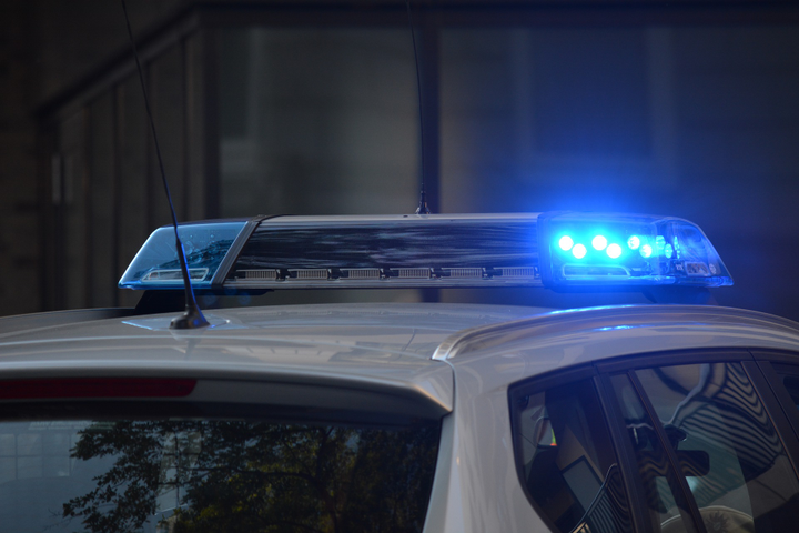 The employee in charge of installing equipment into new police vehicles retired, and the position was not filled, leaving at least 14 new cars collecting dus