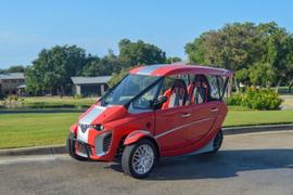 AEV Technologies Launches Three-Wheeled EV