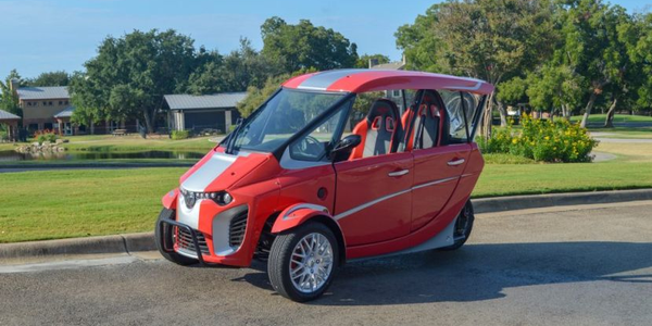 AEV Technologies Launches Three-Wheeled EV