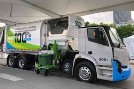 Lion Electric, Boivin Évolution Unveil All-Electric Waste Collection Truck
