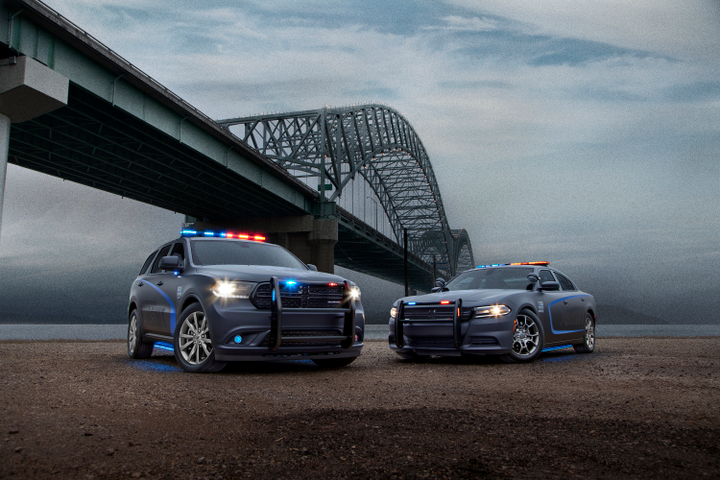 Photo of the Dodge Durango Pursuit and Dodge Charger Pursuit courtesy of FCA