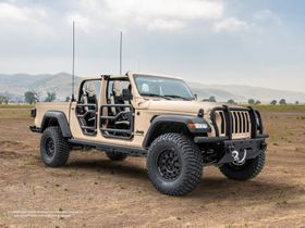 AM General and Jeep Design Military-Grade Concept Truck