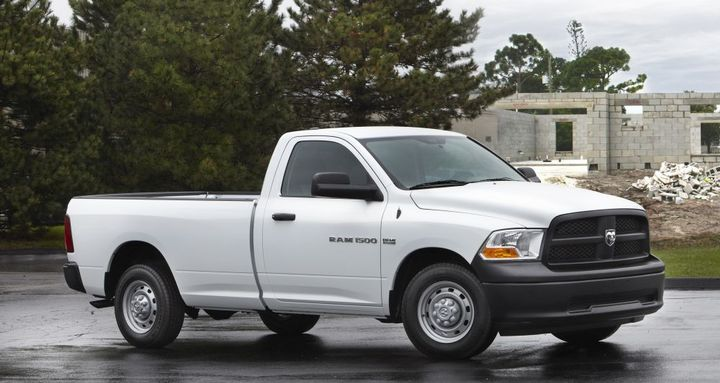 The former assistant fleet manager rigged a surplus auction so he could buy a 2012 Ram 1500 pickup for his girlfriend.