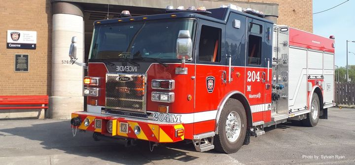 The Montreal Fire Department will add 35 pumpers built on Pierce chassis over the next five years.