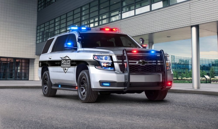 2018 Chevrolet Tahoe PPV  - Photo courtsy of GM