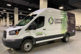 CARB Approves Lightning Systems' Electric Ford Transit
