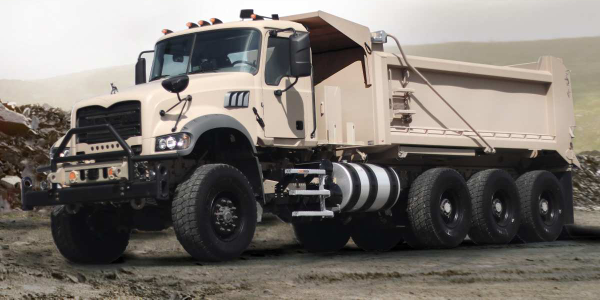 Mack Defense Enters Testing Phase of Heavy Dump Truck Contract