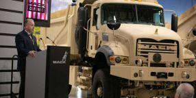 U.S. Army Gets First Mack Defense Heavy Dump Trucks