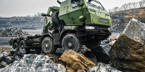 Canadian Defense Dept. Takes Delivery of Mack Defense Trucks