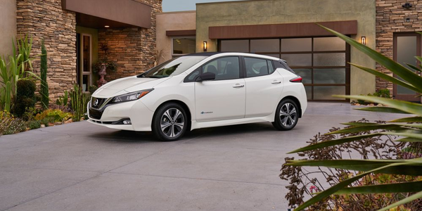 The 2018 LEAF has a range of 150 miles.