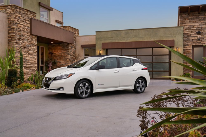The 2018 Leaf Has A Range Of 150 Miles Photo Courtesy Nissan