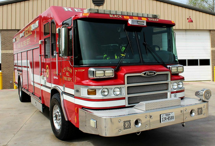 Pierce Manufacturing is recalling non-Ascendant firefighting vehicles, including the 2017 Quantum (pictured). A potential 886 units may be affected by this recall.  - Photo courtesy of Pierce Manufacturing