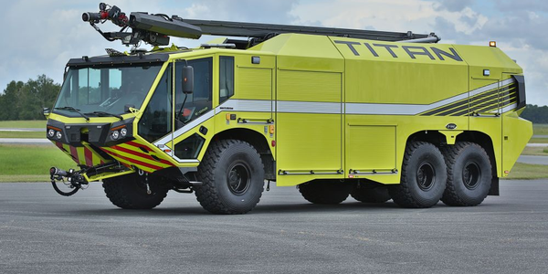 E-One Introduces 6X6 Firefighting Vehicle