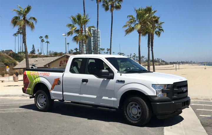 The City of Long Beach, Calif.,has ordered eight plug-in hybrid electric F-150 trucks.  - Photo courtesy of XL