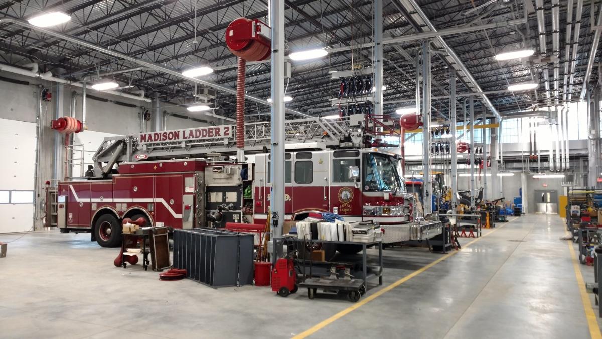 Madison's $33M Fleet Facility Tour