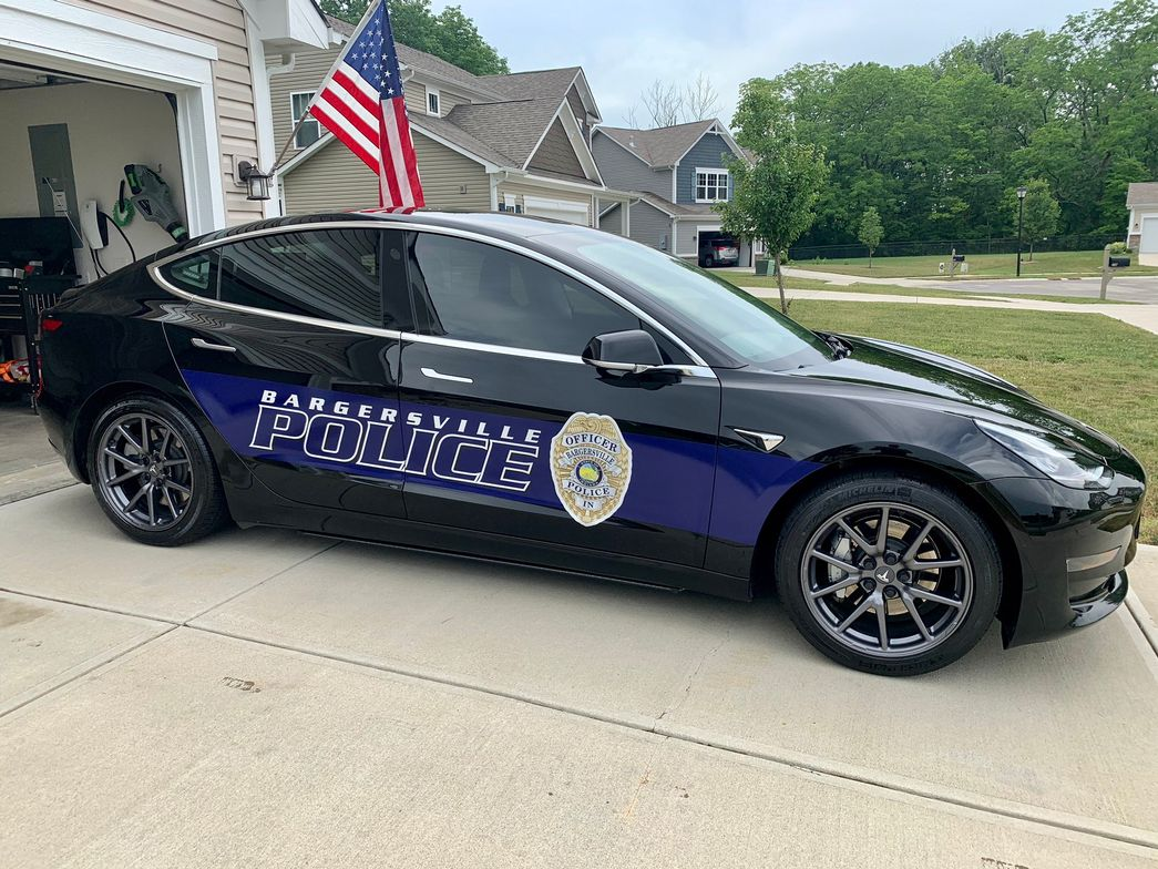 In August 2019, the Bargersville Police Department introduced its first all-electric patrol...