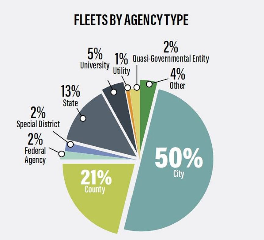 This chart shows the profile of survey respondents and the public entities for which they work....
