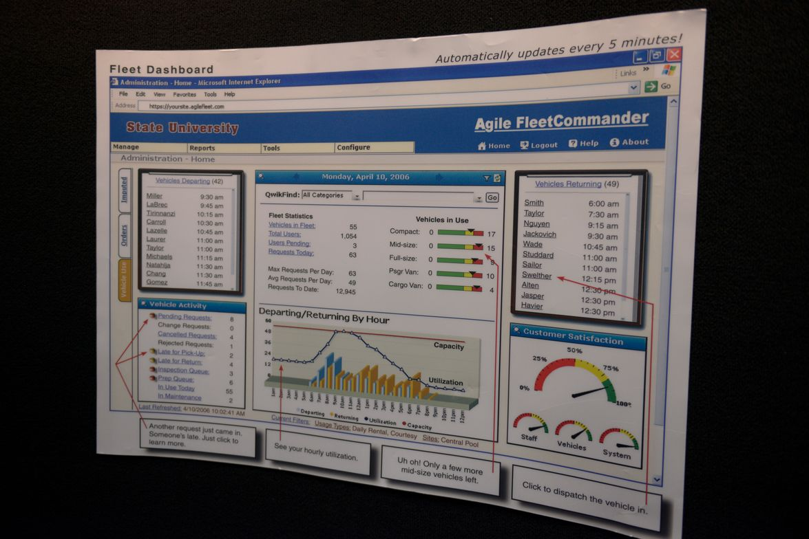 Agile Access Control has released the 4.9.2 update to its Fleet Commander fleet management software.